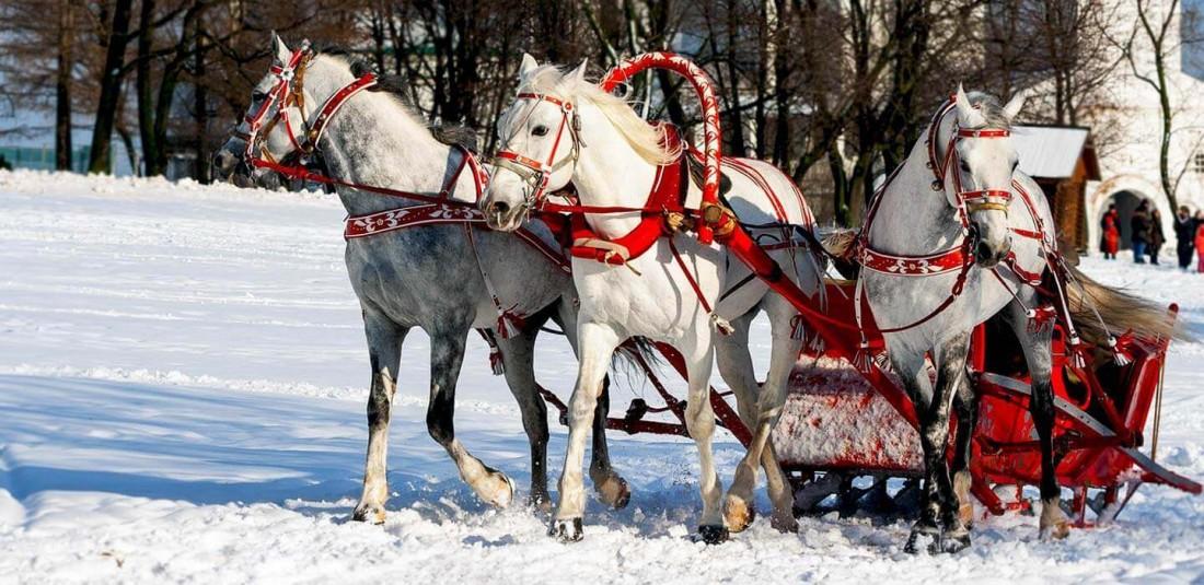 Нова година и Коледа в Русия